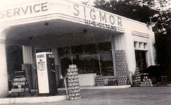 early sigmor gas station